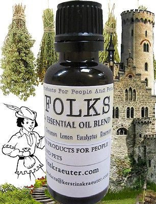 Healthy Folks - Immune Defense Essential Oil Blend - Kerstin's Nature Products