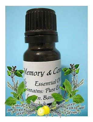 Enhance Memory and Concentration Essential Oil Blend ~Multiple Sizes - Kerstin's Nature Products