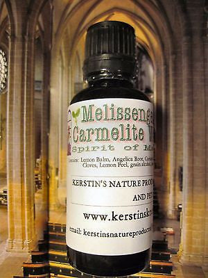 Melissengeist (Spirit of Melissa) Carmelite Water ~Multiple Sizes - Kerstin's Nature Products