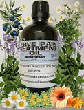 Nerve Pain Relief Massage Oil Blend - Kerstin's Nature Products