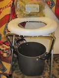 Portable Vaginal Yoni Steam Chair and Herb Set ~ Chai-Yok, Bajos - Kerstin's Nature Products