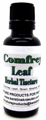 Comfrey Leaf Herbal Tincture Extract ~Multiple Sizes - Kerstin's Nature Products