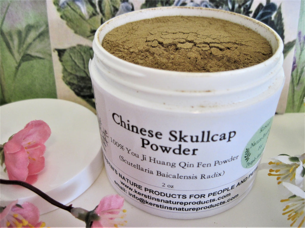Chinese Skullcap Root Powder (Scutellaria Baicalensis Radix) - Kerstin's Nature Products