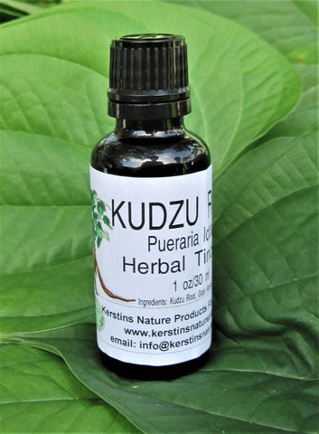 Kudzu Root Herbal Tincture - Kerstin's Nature Products