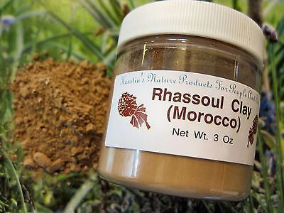 Rhassoul Clay (Morocco) ~Multiple Sizes - Kerstin's Nature Products