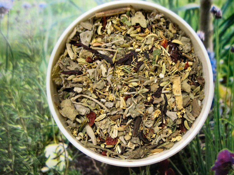 Cold and Flu Herbal Tea ~Multiple Sizes - Kerstin's Nature Products