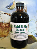 Cold and Flu Relief Tincture - Kerstin's Nature Products