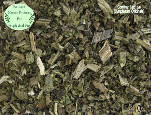 Comfrey Leaf - Dried Herb ~Multiple Sizes - Kerstin's Nature Products