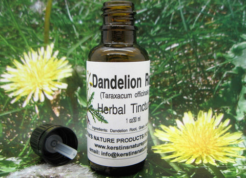 Dandelion Root Herbal Tincture - Kerstin's Nature Products