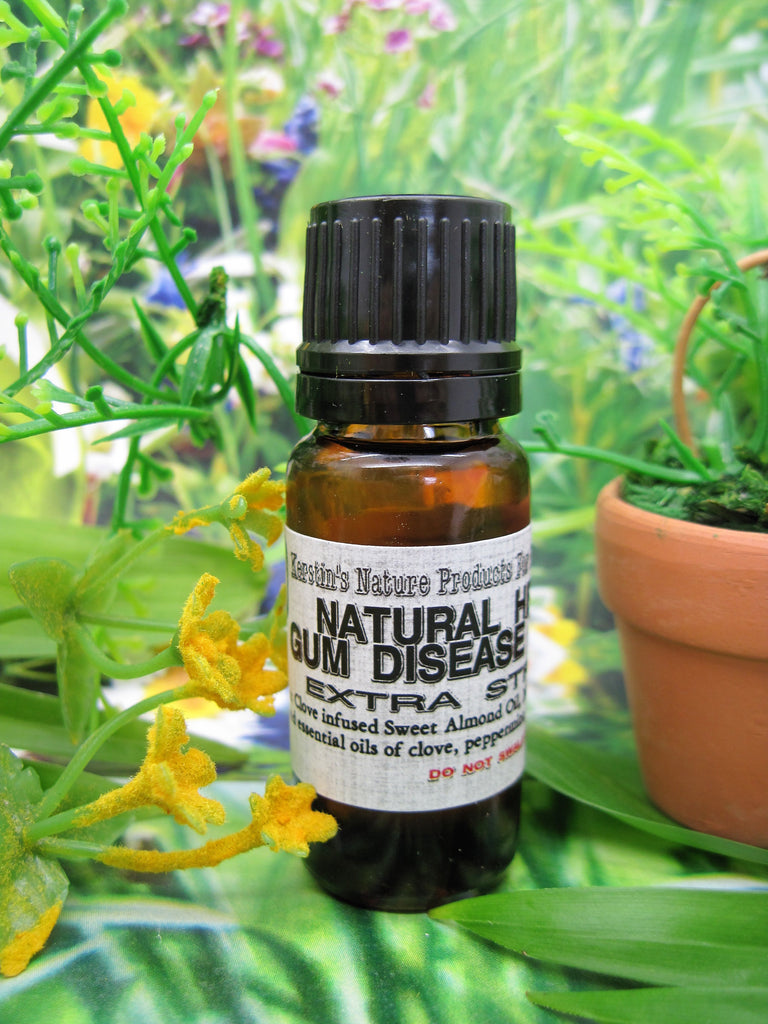 Natural Herbal Gum Disease Remedy - Kerstin's Nature Products