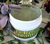 Itch Relief Cream With Green Clay ~Multiple Sizes - Kerstin's Nature Products