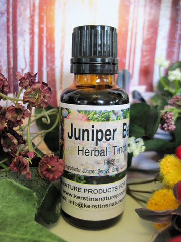Juniper Berry Herbal Tincture - Kerstin's Nature Products