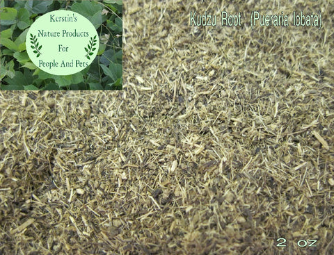Kudzu Root Dried Herb Cut - Kerstin's Nature Products