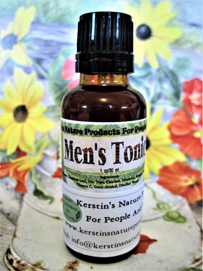 Men's Tonic Herbal Tincture 1 oz - Kerstin's Nature Products
