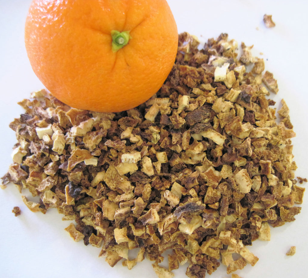 Orange Peel - Dried Herb Cut - Kerstin's Nature Products