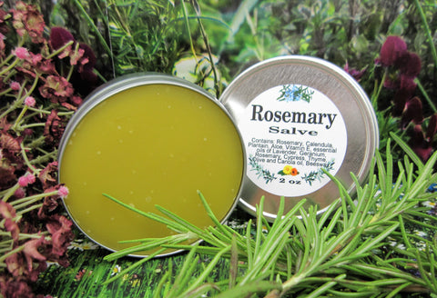 All Natural Organic Rosemary Salve - Kerstin's Nature Products