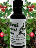 Uva Ursi (Bearberry) Herbal Tincture ~Multiple Sizes - Kerstin's Nature Products