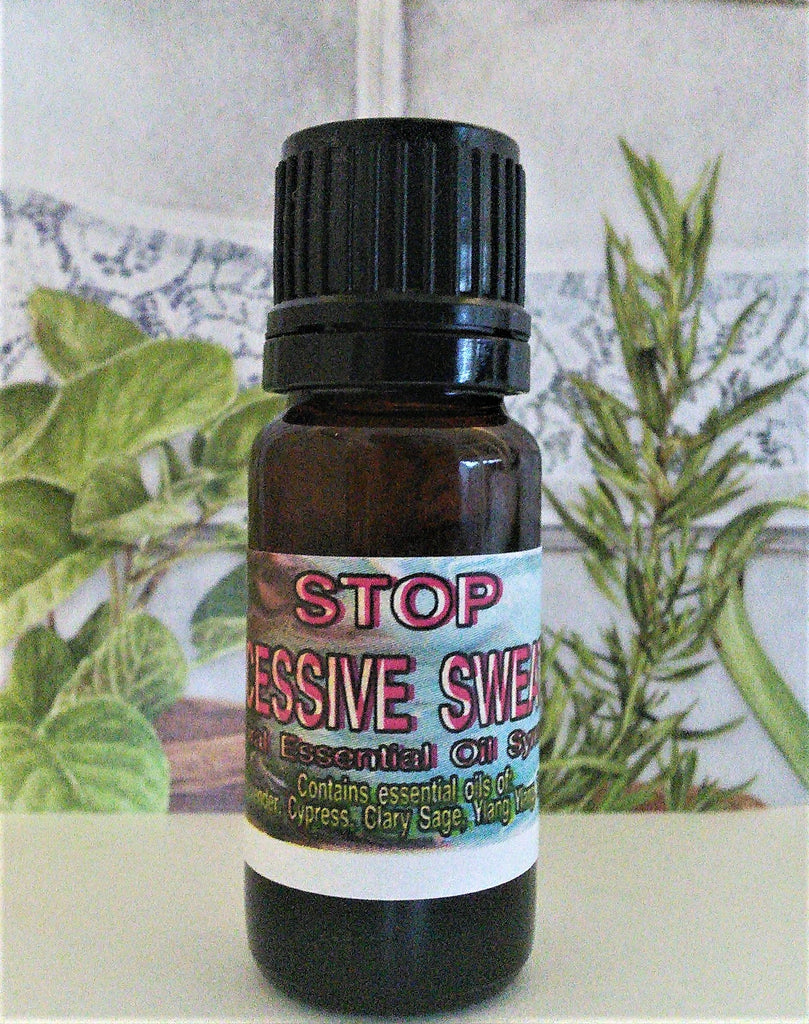 Stop Excessive Sweating -  Essential Oil Blend - Kerstin's Nature Products