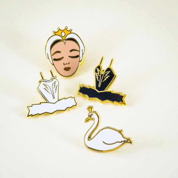 Swan Lake Enamel Pins: this set is a perfect ballet recital gift