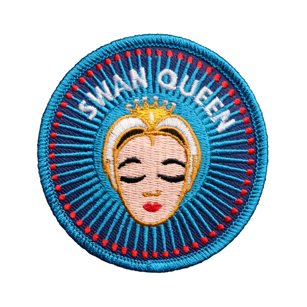 Odette Swan Queen Embroidered Patch