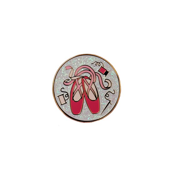 Pointe Shoe Love Enamel Pin