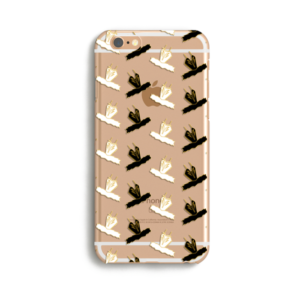 Clearance - 50% OFF Black & White Tutu iPhone Case 6/6S