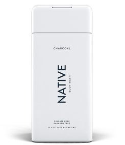 Men Native Moisturizing Body Wash Charcoal