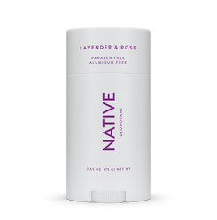 Women Natural Deodorant Lavender & Rose