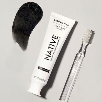 Native Whitening Charcoal Toothpaste