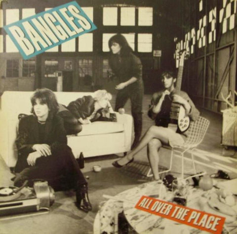 All over the place- Bangles, LP