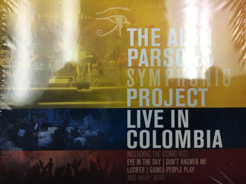 Live in Colombia - The Alan Parsons Symphonic Project, CD