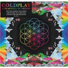 A Head Full of Dreams- Coldplay, LP