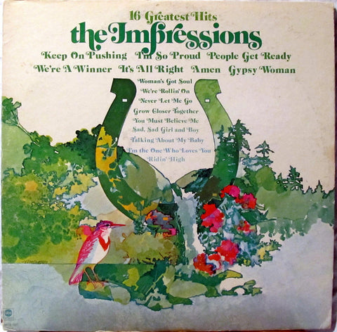 16 Greatest Hits - The Impressions, LP (Pre-Owned)