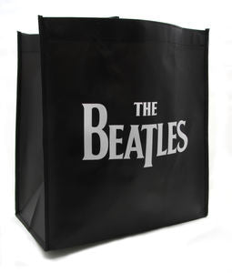 Black Drop T Logo Tote - The Beatles