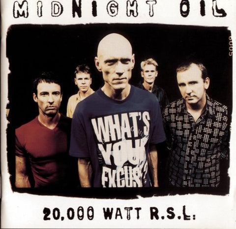 20,000 Watt R.S.L. - Midnight Oil, CD (Pre-Owned)
