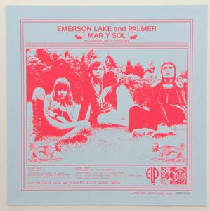Mar Y Sol - Emerson Lake And Palmer, CD