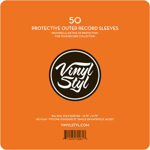 Vinyl Sleeves 50ct