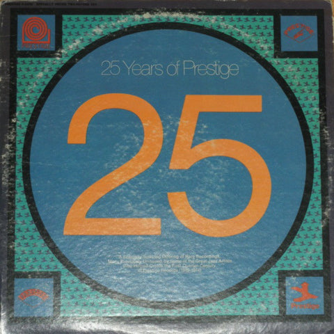 25 Years Of Prestige - Various, LP (Pre-Owned)