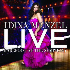 Live Barefoot at the Syphony - Idina Menzel, CD/DVD
