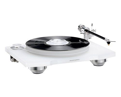 Marantz TT-15S1 Reference Belt Drive Turntable with Cartridge (Transparent White)