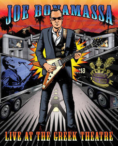 Live At The Greek Theatre - BONAMASSA,JOE, Blu-ray