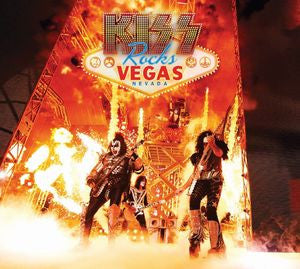 Kiss Rocks Las Vegas - Kiss, CD/DVD
