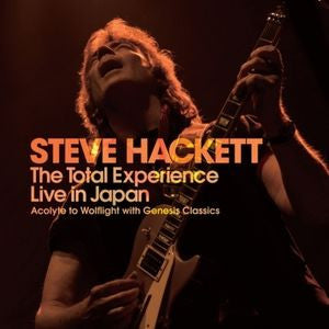Total Experience Live In Japan - Steve Hackett, CD