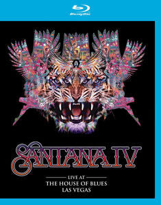 Live At The House Of Blues, Las Vegas - Santana, Blu-Ray