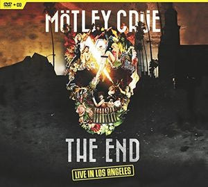 The End Live in Los Angeles, Montley Crue, DVD