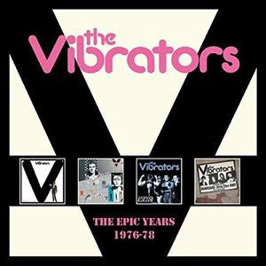 Epic Years 1976-1978 - The Vibrators, CD, Import