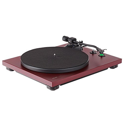 TEAC - TN-400S Turntable (Bordeaux Red)