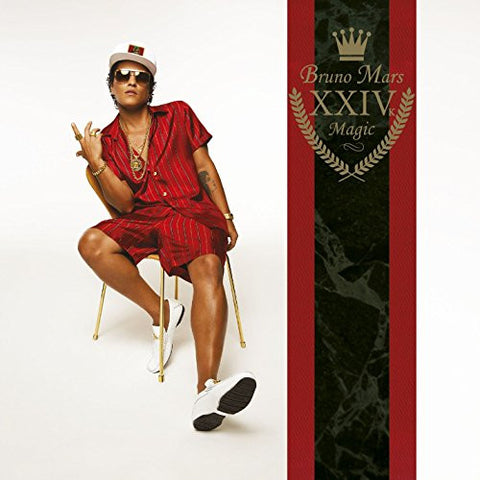 24K Magic - Bruno Mars, CD