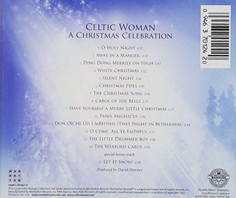 a christmas celebration celtic woman cd pre owned