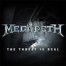 Megadeth- The Threat is Real, LP RECORD STORE DAY